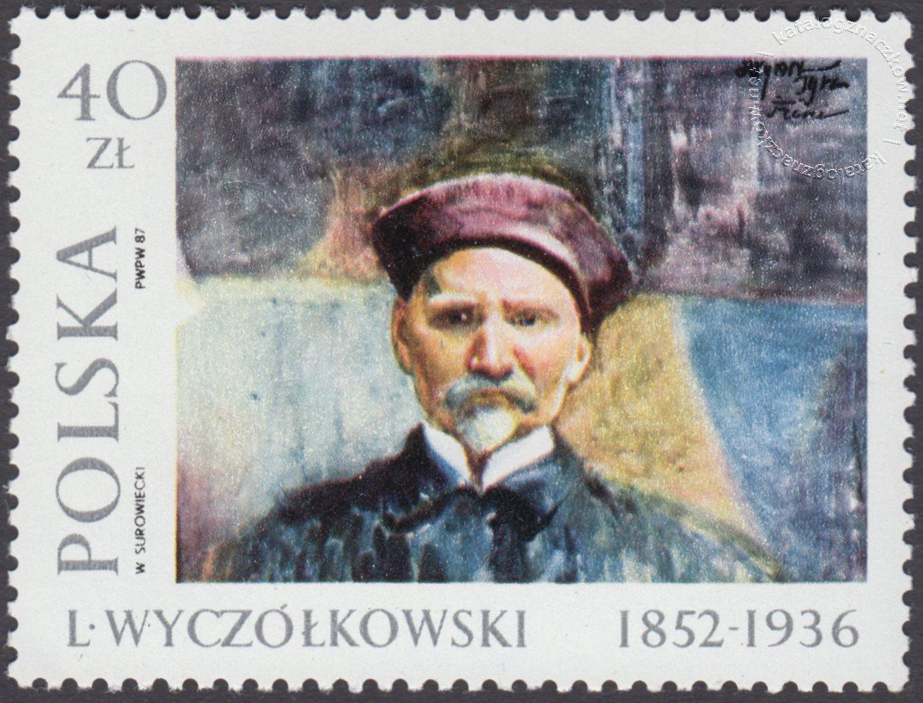 Malarstwo polskie – Leon Wyczółkowski znaczek nr 2939