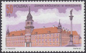 Zamek Królewski. Spotkanie papieża Jana Pawła II z gen W.Jaruzelskim - 2950