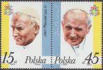 III wizyta papieża Jana Pawła II w Polsce znaczki nr 2951-2952