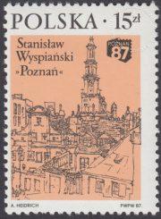 XV Ogólnopolska Wystawa Filatelistyczna Poznań 87 - 2957