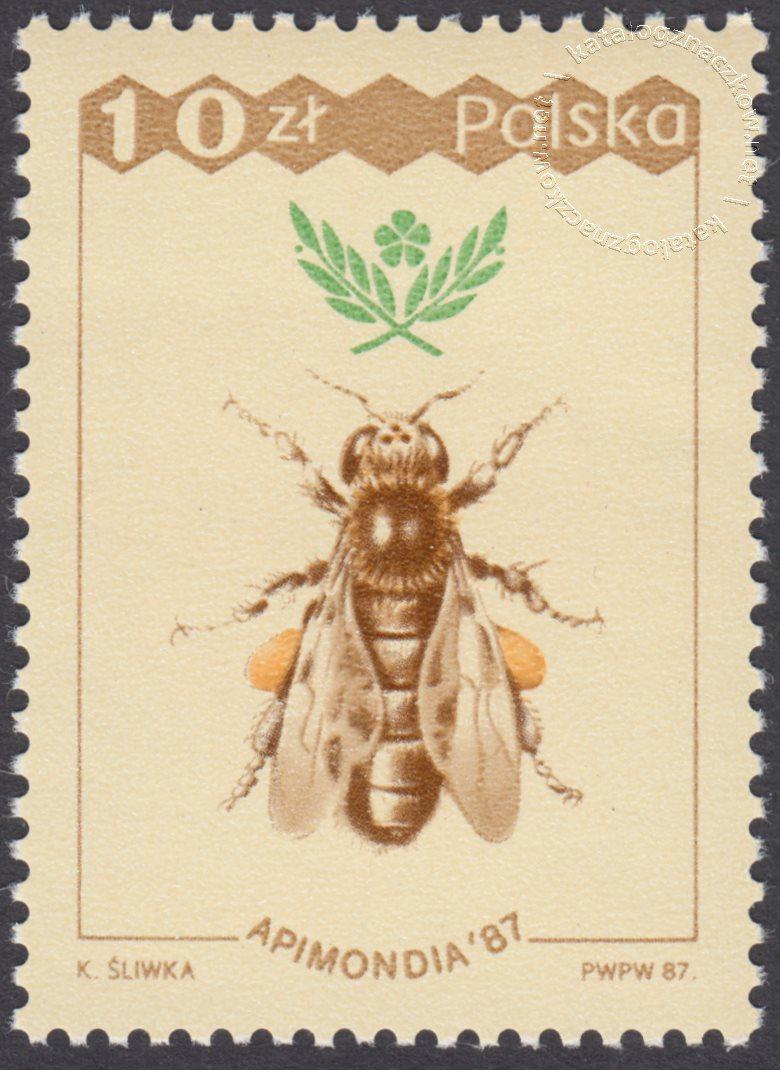 XXXI Międzynarodowy kongres Pszczelarski Apinodia 87 znaczek nr 2959