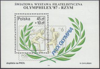 Światowa Wystawa Filatelistyczna Olimphilex 87 - Blok 90