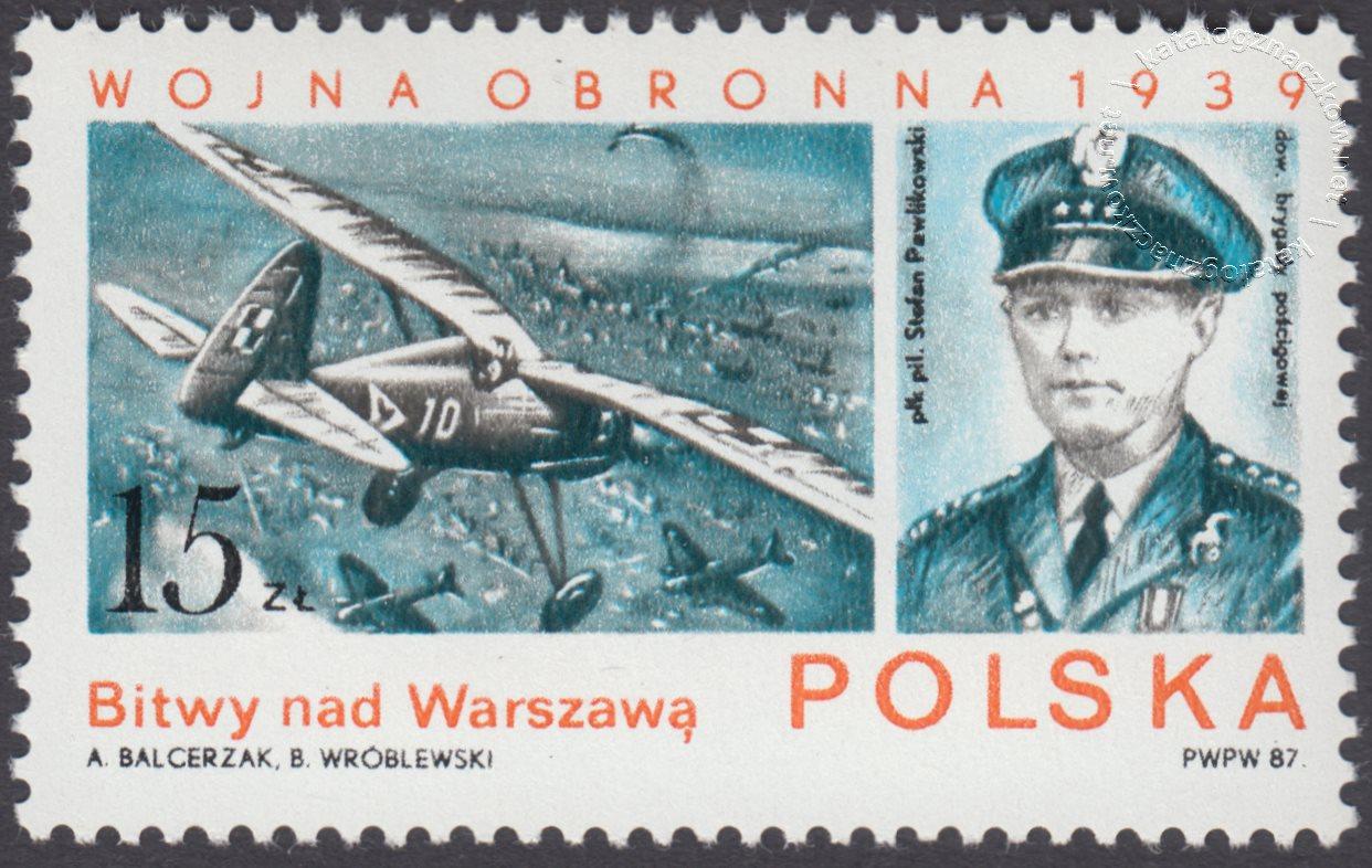 Wojna obronna 1939 znaczek nr 2967