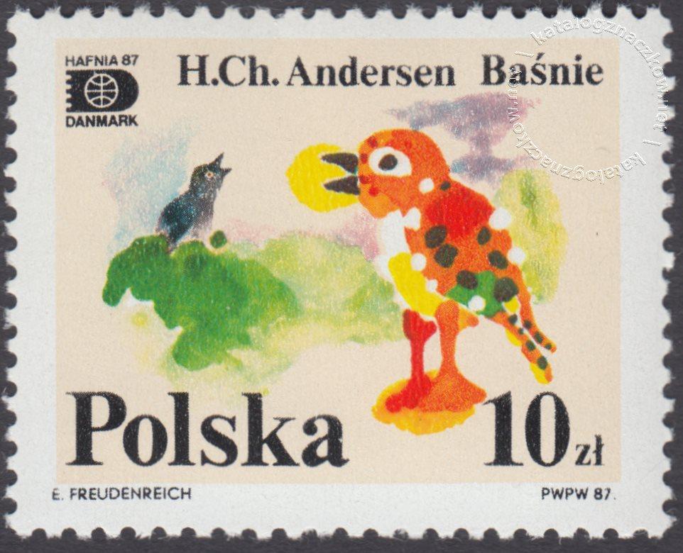 Światowa Wystawa Filatelistyczna Hafnia 87 znaczek nr 2978