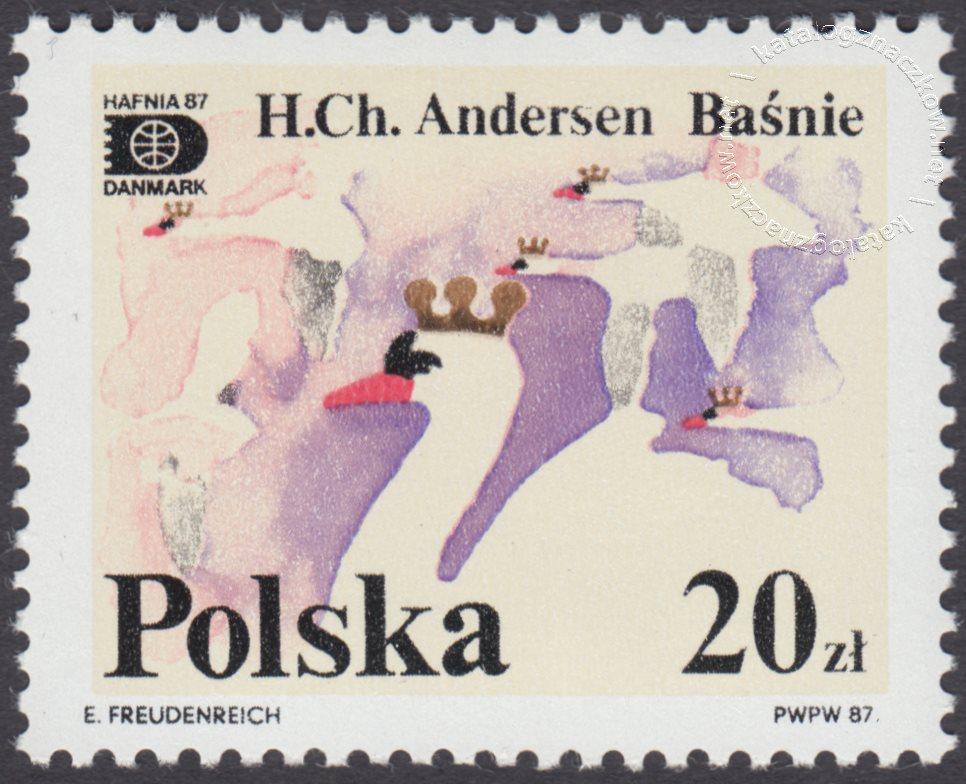 Światowa Wystawa Filatelistyczna Hafnia 87 znaczek nr 2979