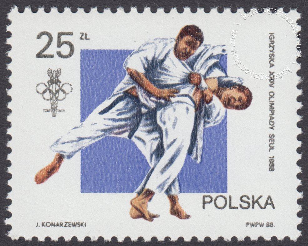 XXIV Igrzyska Olimpijskie w Seulu znaczek nr 3004