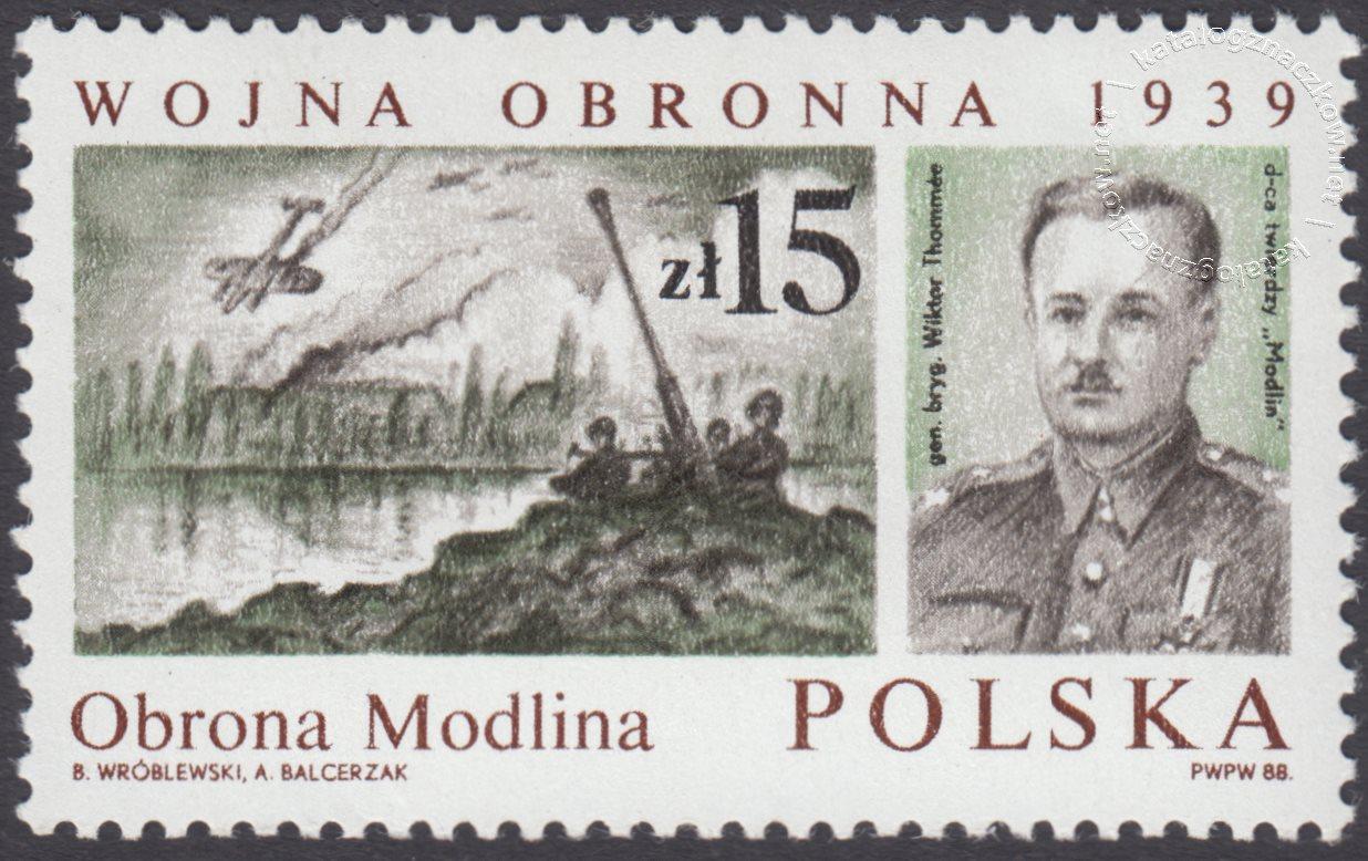 Wojna Obronna 1939 znaczek nr 3011