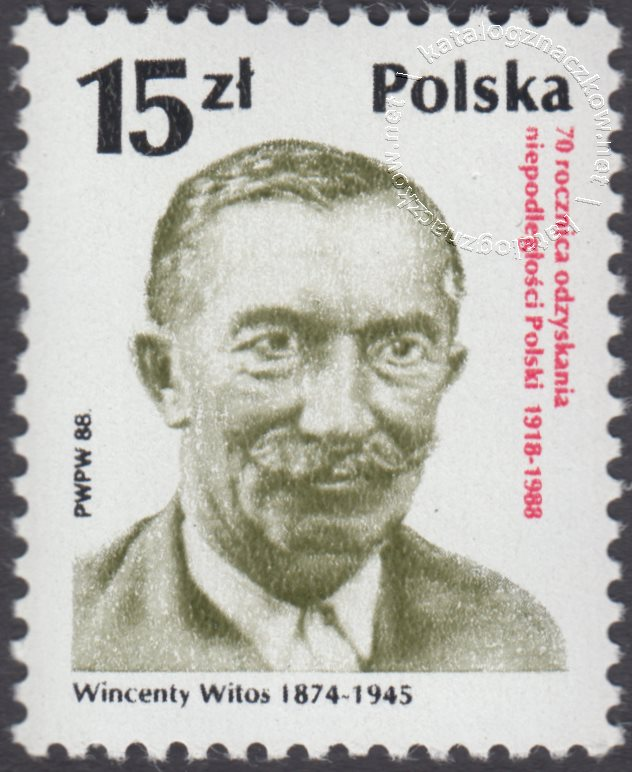 70 rocznica odzyskania niepodległości Polski znaczek nr 3022