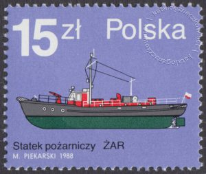 Statki pożarnicze - 3037