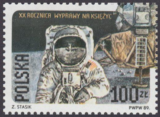 20 rocznica pierwszego lądowania na Księżycu - 3062