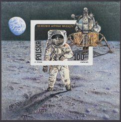 20 rocznica pierwszego lądowania na Księżycu - Blok 95