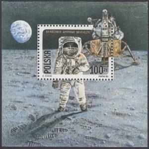 20 rocznica pierwszego lądowania na Księżycu - Blok 95B