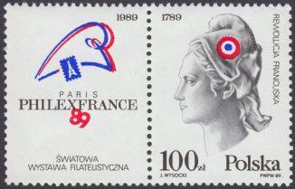 Światowa Wystawa Filatelistyczna Philexfrance 89 w Paryżu - 3056