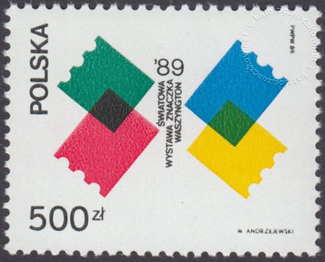 Światowa wystawa znaczka w Waszyngtonie - 3081B
