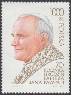70 rocznica urodzin Papieża Jana Pawła II - 3117