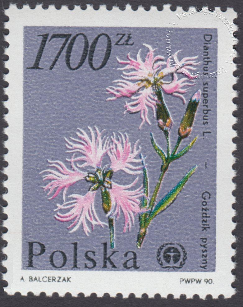 Rośliny ginące w Polsce znacczek nr 3139