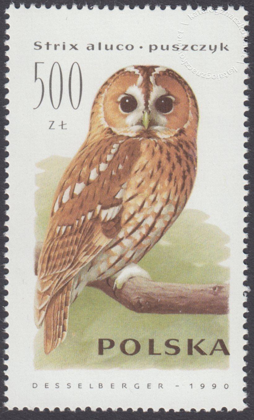 Sowy znaczek nr 3147