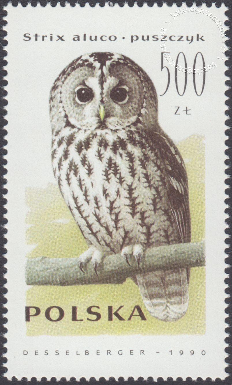 Sowy znaczek nr 3148