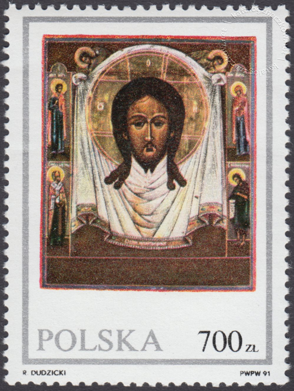 Ikony ze zbiorów Muzeum Ziemi Lubuskiej znaczek nr 3172