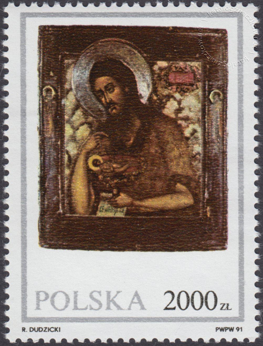 Ikony ze zbiorów Muzeum Ziemi Lubuskiej znaczek nr 3175