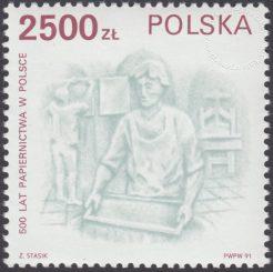 500 lat papiernictwa w Polsce - 3189