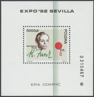 Światowa Wystawa EXPO92 w Sevilli - Blok 102