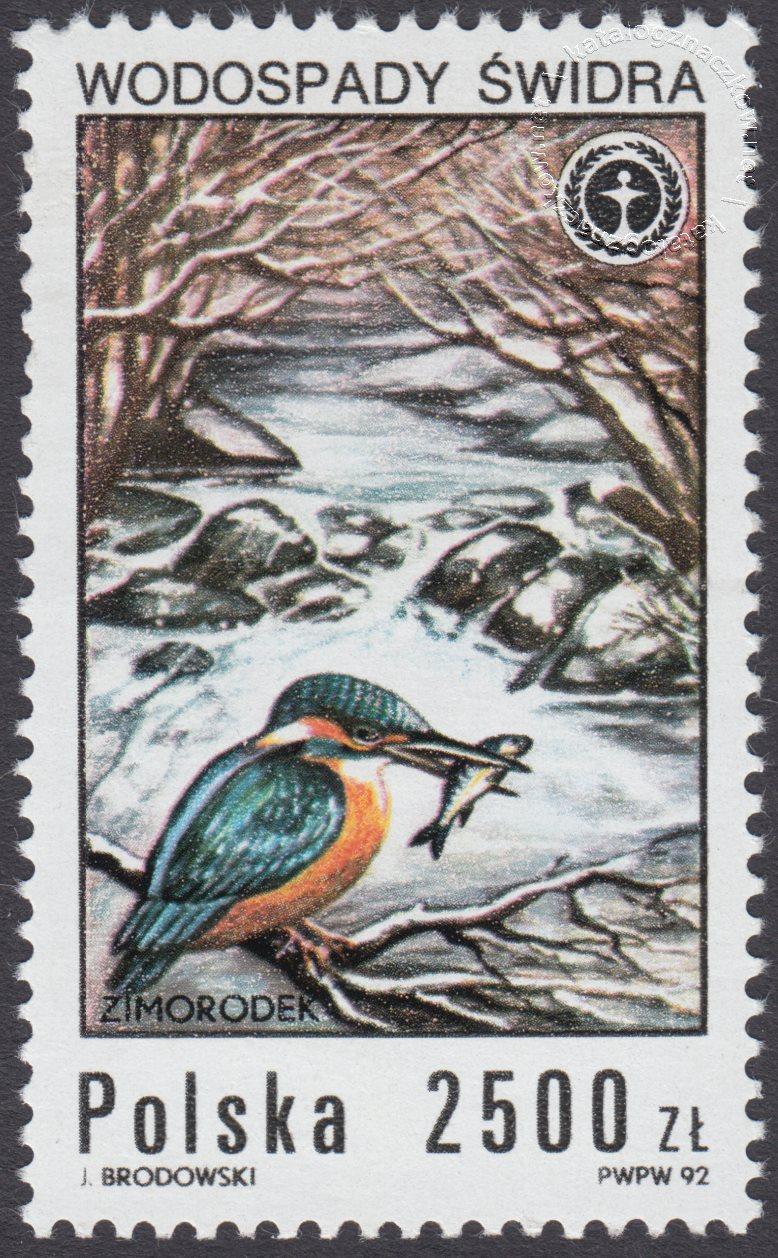 Wodospady polskie znaczek nr 3232