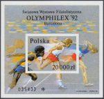 Światowa Wystawa Filatelistyczna Olymphilex 92 w Barcelonie - Blok 104A