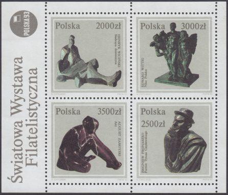 Rzeźba polska ze zbiorów Muzeum Narodowego w Warszawie - Blok 105