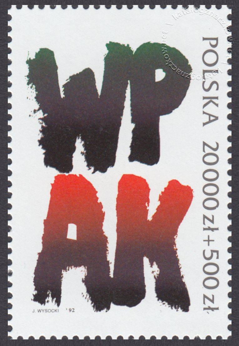 Rok historii Armii Krajowej znaczek nr 3267