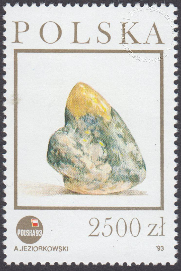 Szlak bursztynowy znaczek nr 3280
