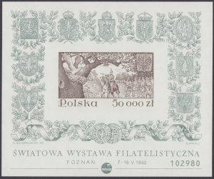 Światowa Wystawa Filatelistyczna w Poznaniu - Blok 108A