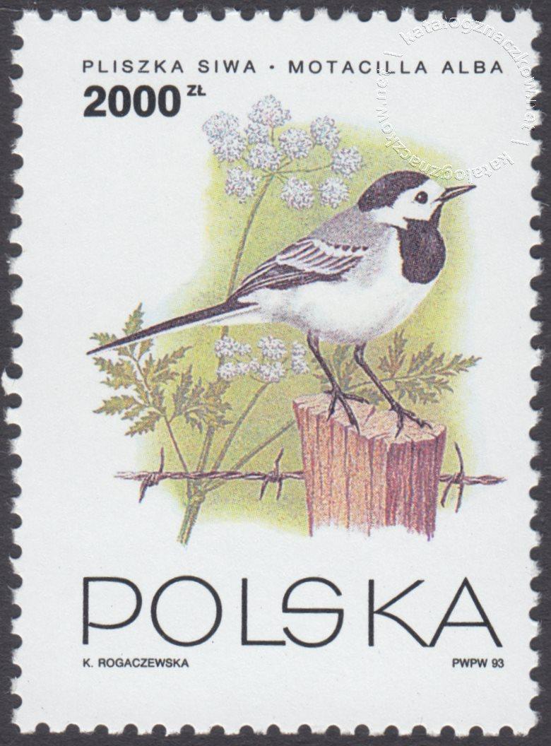 Ptaki ogrodów znaczek nr 3311