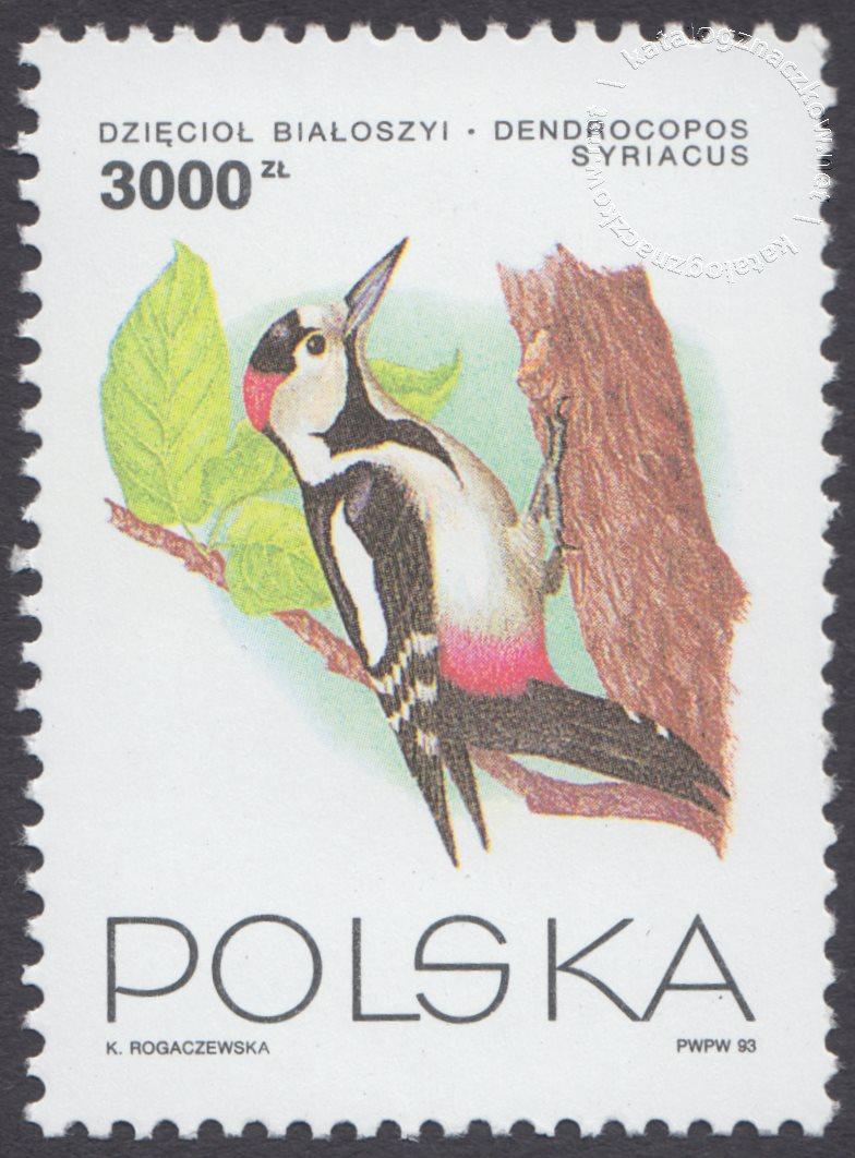 Ptaki ogrodów znaczek nr 3312