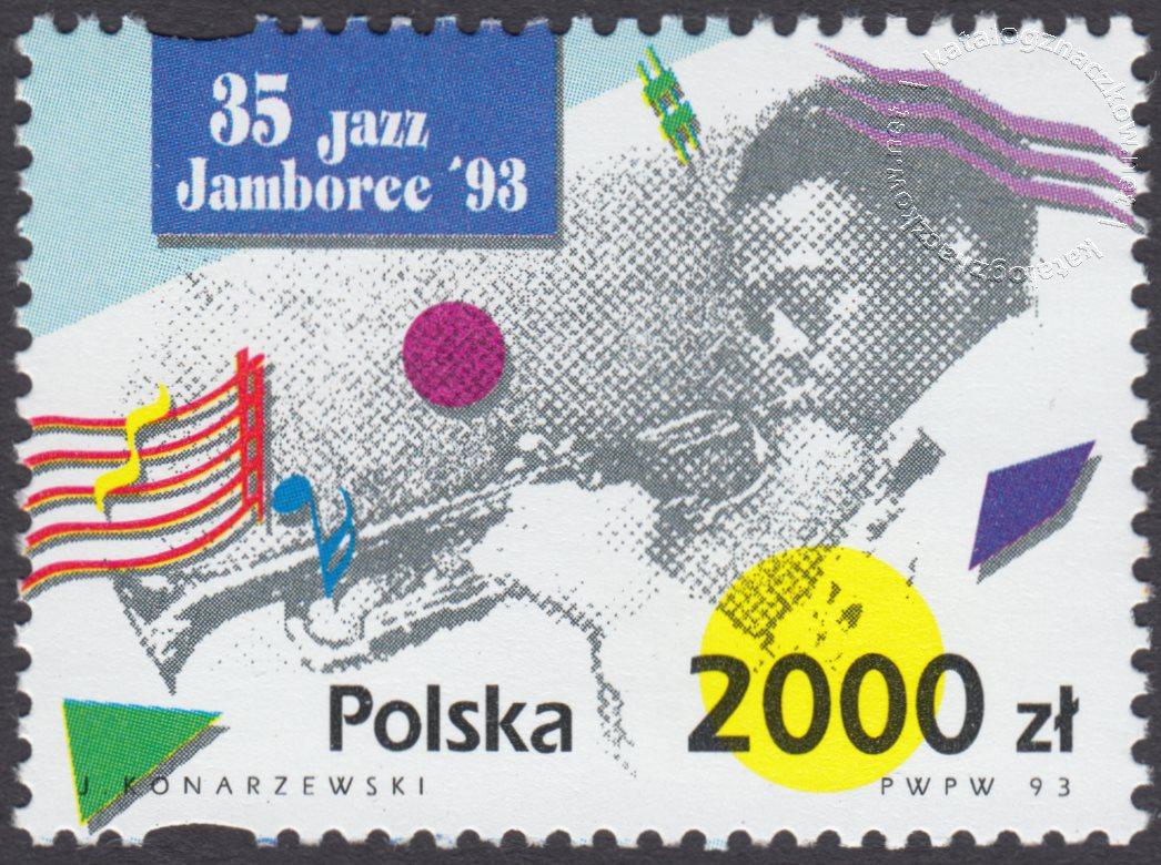 35 Międzynarodowy Festiwal Jazz Jamboree znaczek nr 3320