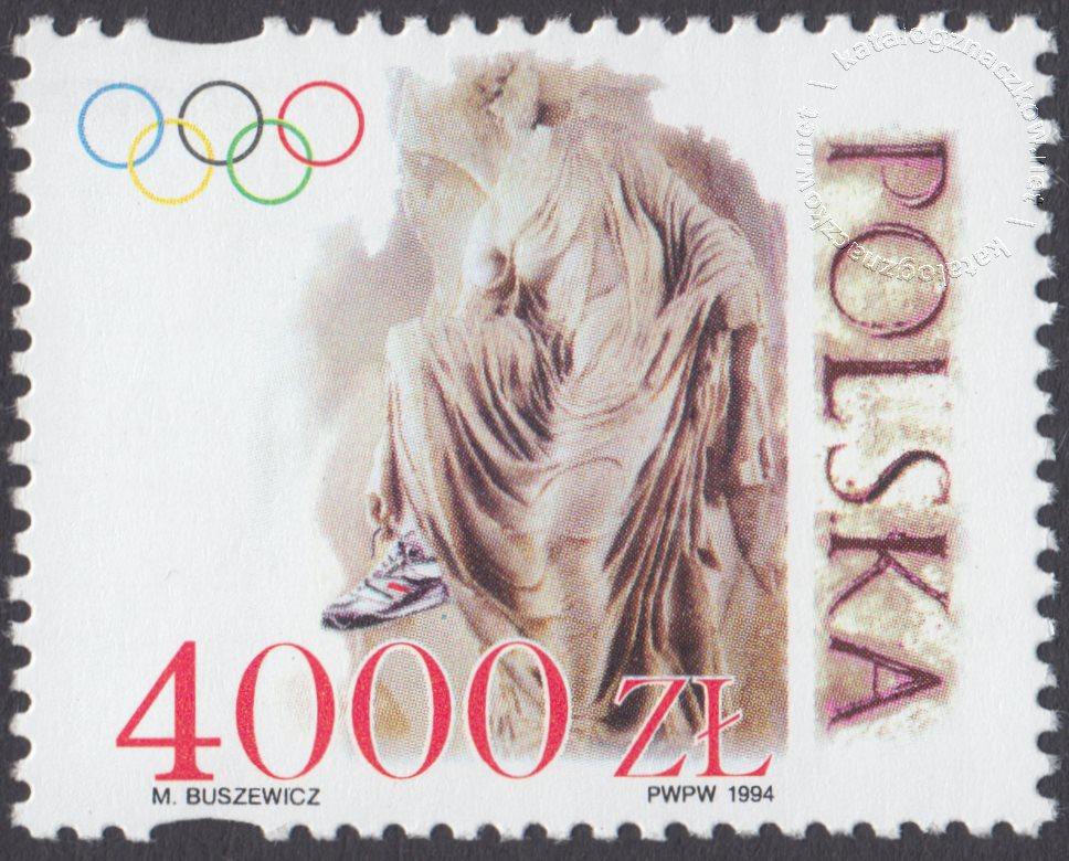 Rok sportu i ideału olimpijskiego znaczek nr 3355