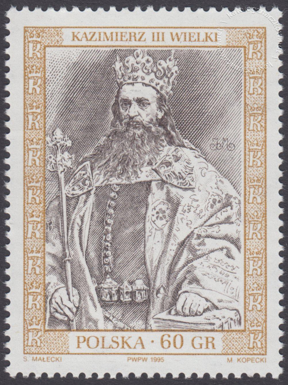 Poczet królów i książąt polskich znaczek nr 3375