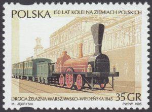150 lat kolei na ziemiach polskich - 3393
