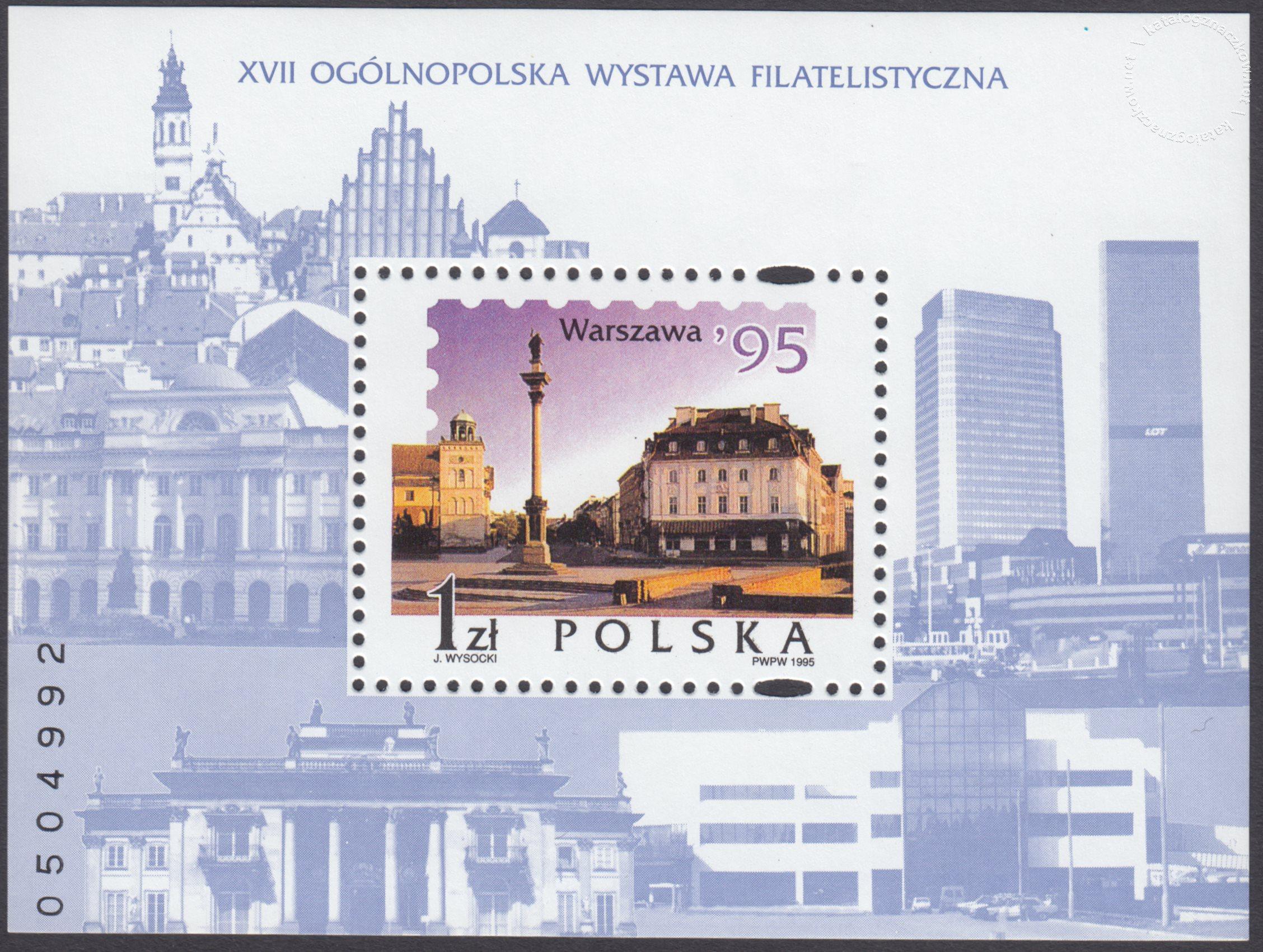 XVII Ogólnopolska Wystawa Filatelistyczna w Warszawie – Blok 113
