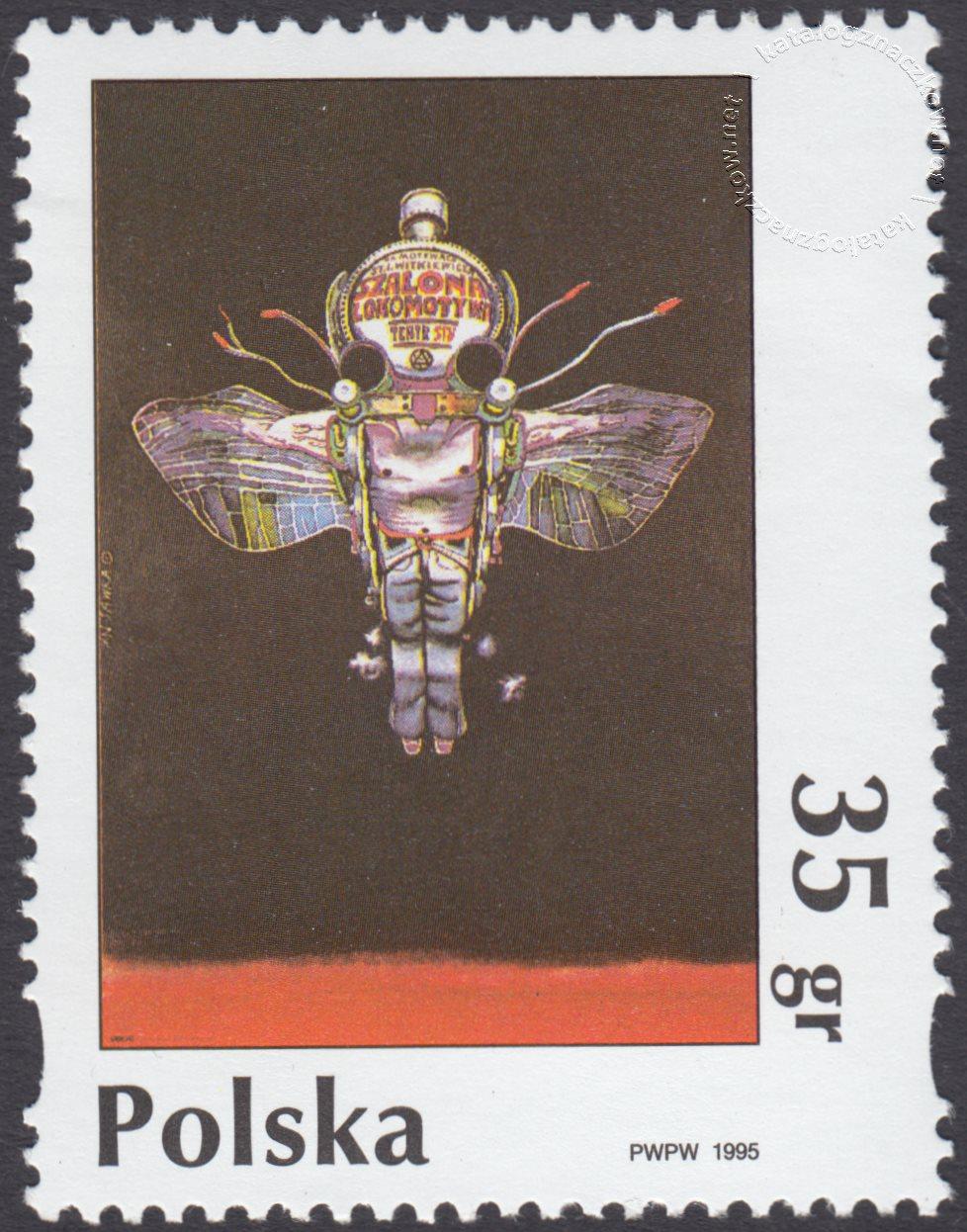 Plakat polski znaczek nr 3410