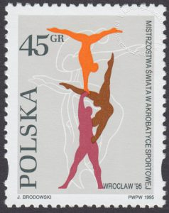 Mistrzostwa Świata w akrobatyce sportowej we Wrocławiu - 3415