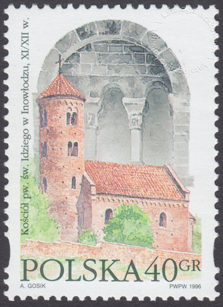 Style architektoniczne znaczek nr 3425