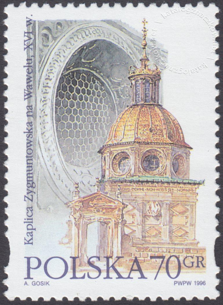 Style architektoniczne znaczek nr 3427