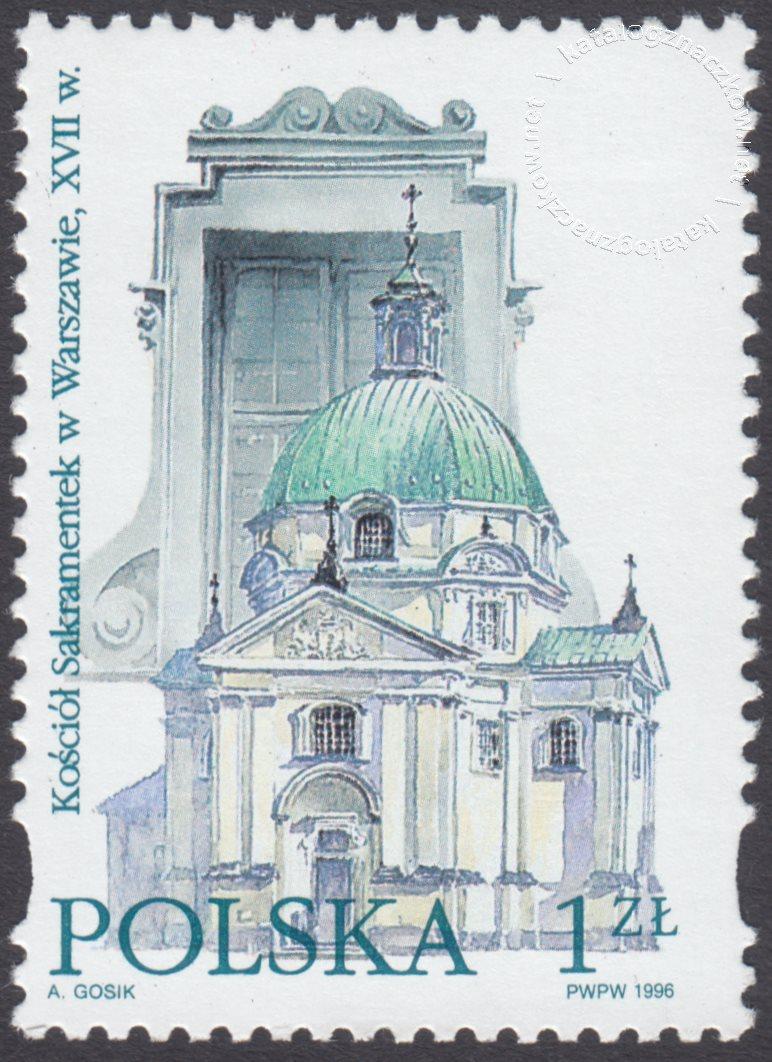 Style architektoniczne znaczek nr 3428