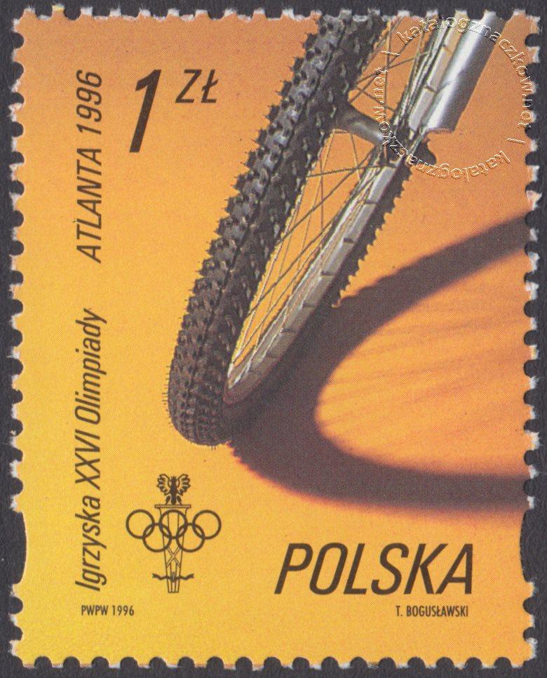 XXVI Igrzyska Olimpijskie w Atlancie znaczek nr 3460