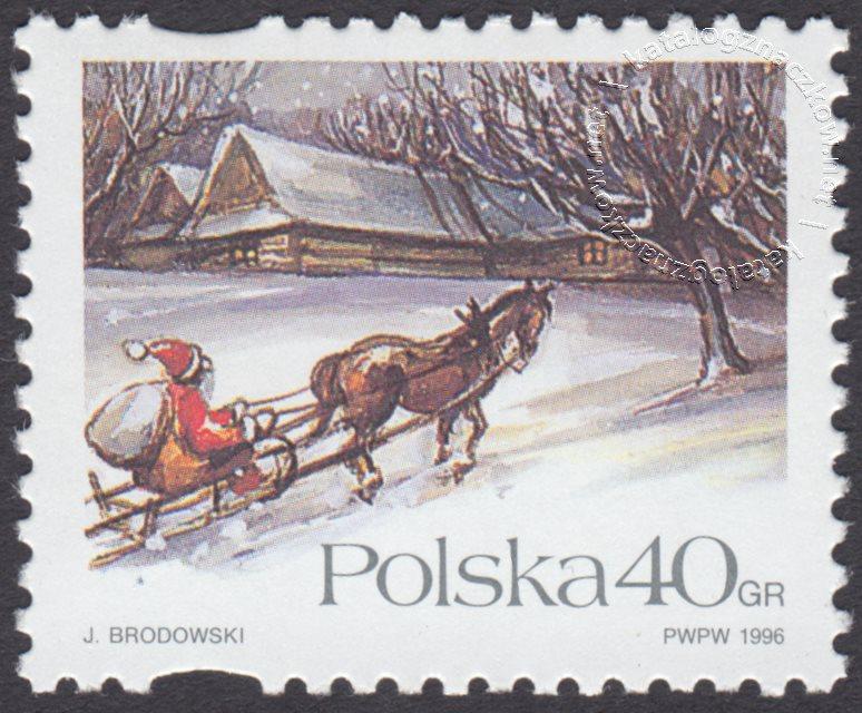 Boże Narodzenie znaczek nr 3479