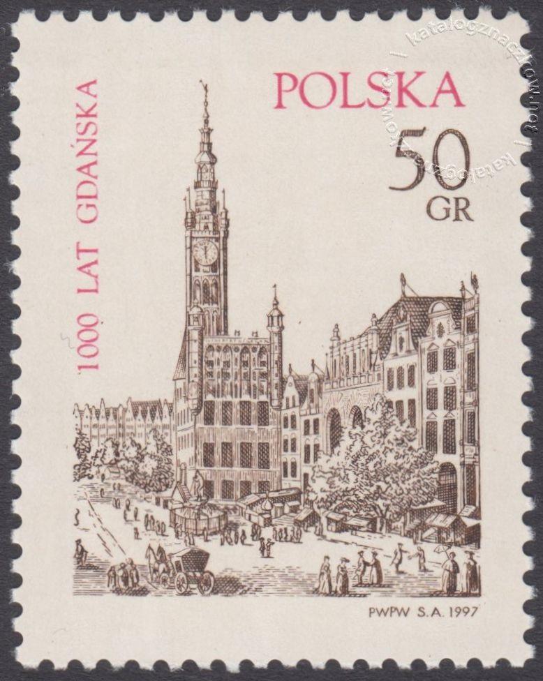 1000 lat Gdańska znaczek nr 3492