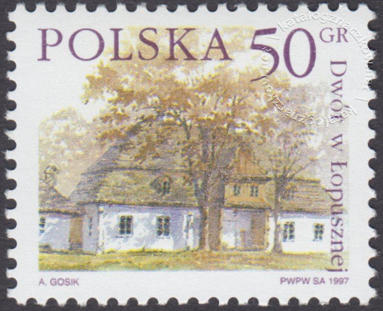 Dworki polskie znaczek nr 3497
