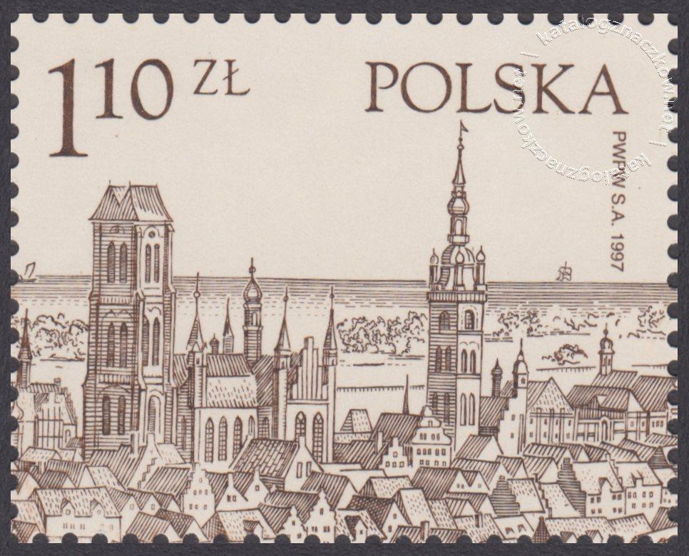 1000 lat Gdańska znaczek nr 3493B