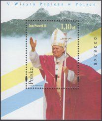 V wizyta Papieża Jana Pawła II w Polsce - Blok 116